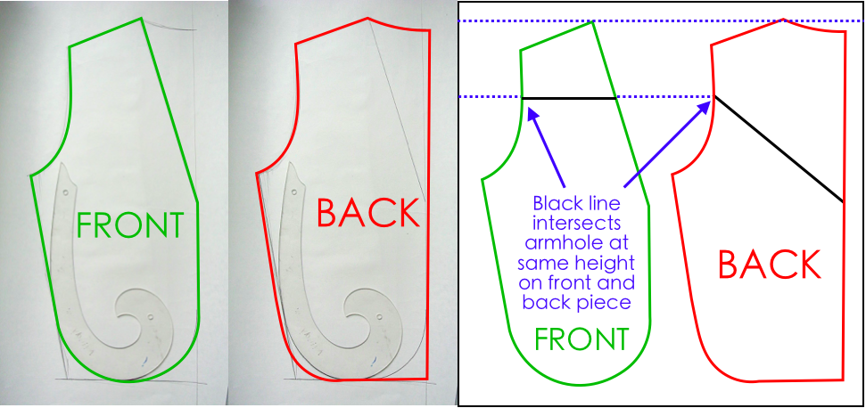 To show how to create Front and Back Pattern for Cowboy Vest DIY