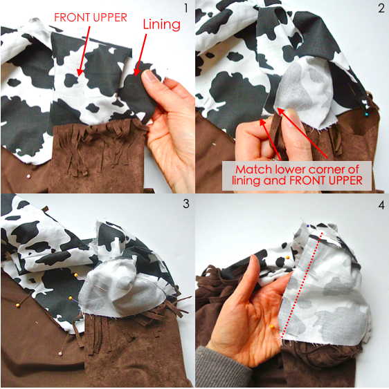 To show how to Finish Sewing Lining in Cowboy Vest DIY