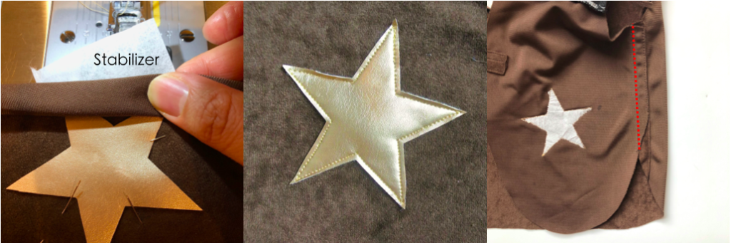 To show how to sew Star in Cowboy Vest DIY