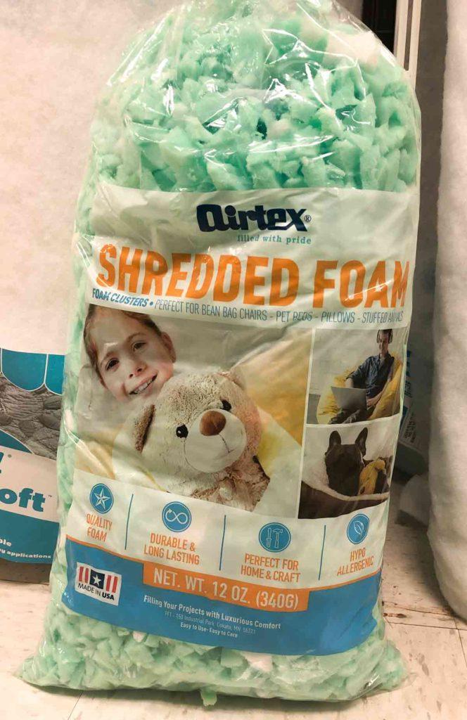 Airtex Shredded Foam