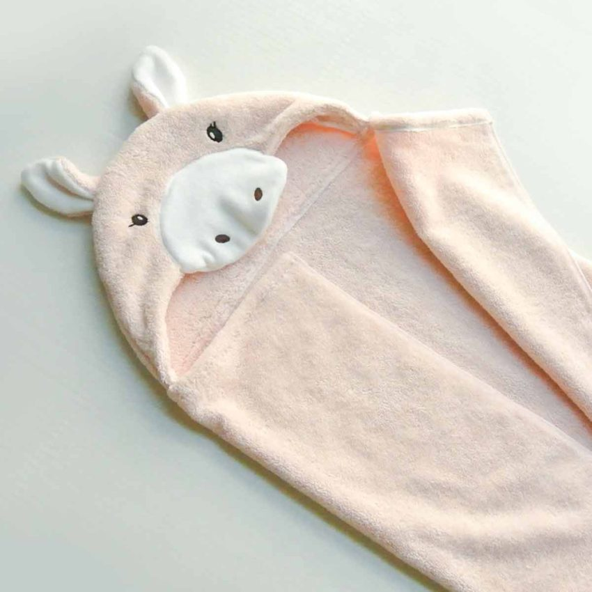 Finished DIY Baby Hooded Towel