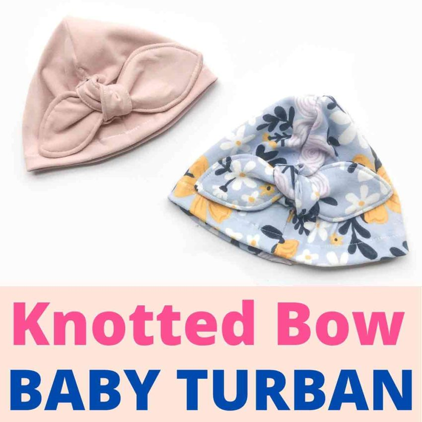 Knotted Bow Baby Turban Featured Image