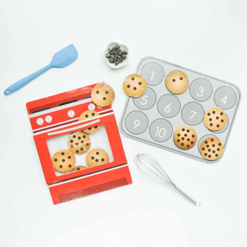 Toddler Number Matching Cookie Counting Game