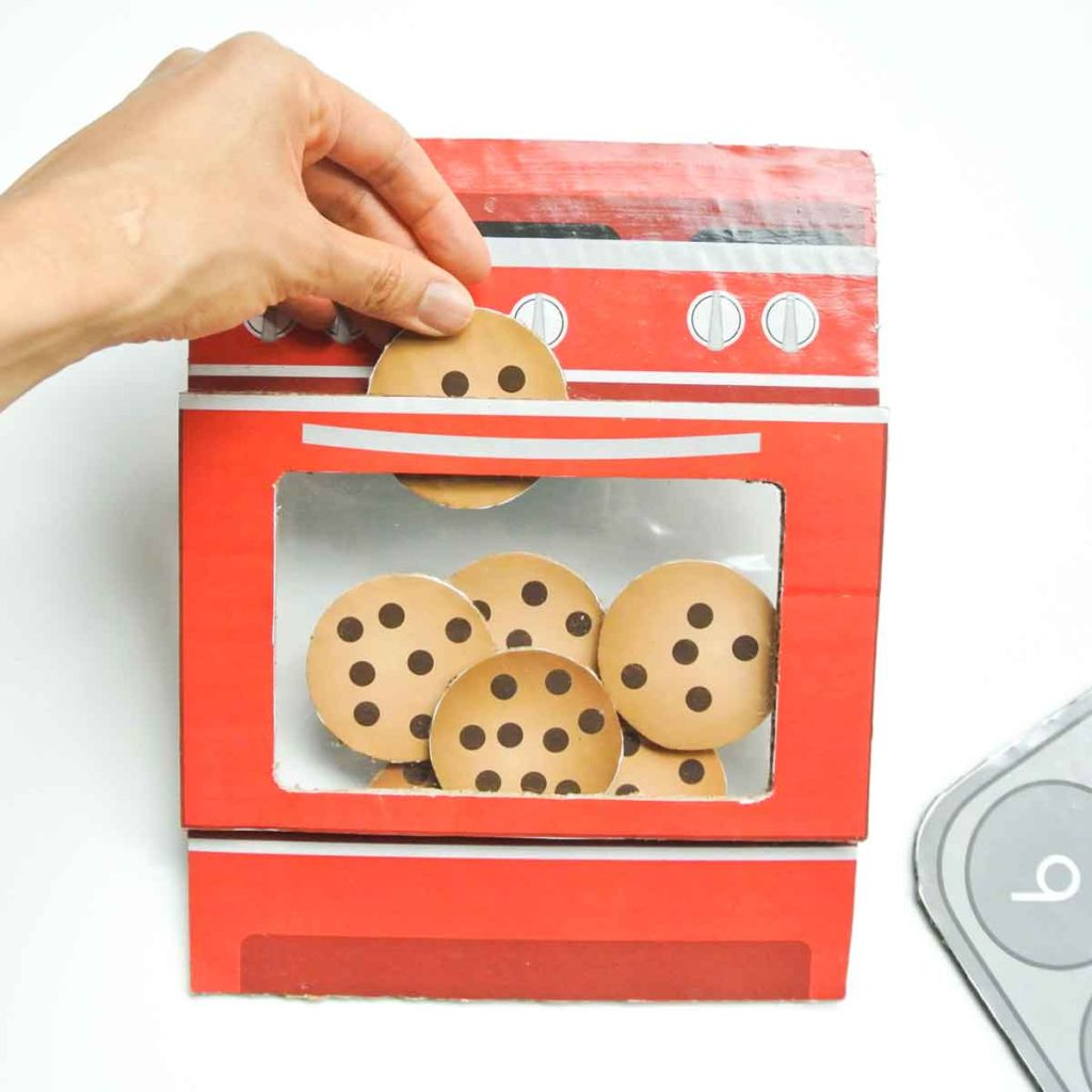 Kid's Cookie Number Matching Game