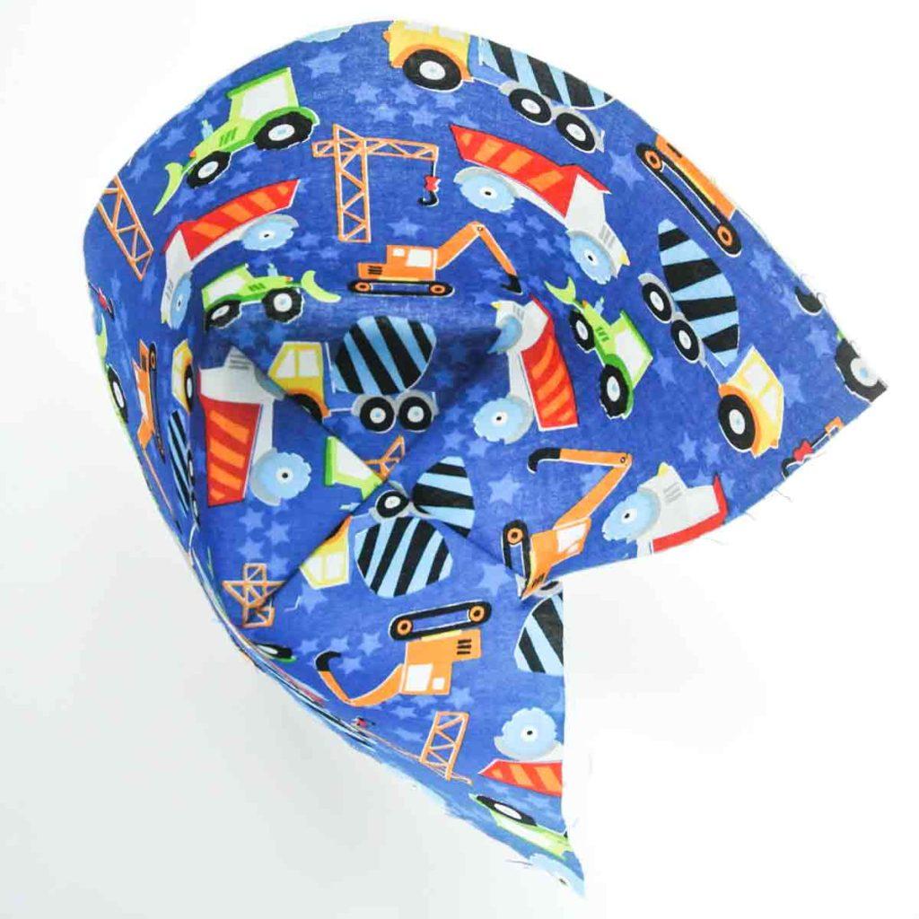 Fabric storage bins pattern Darts on bottom sewn