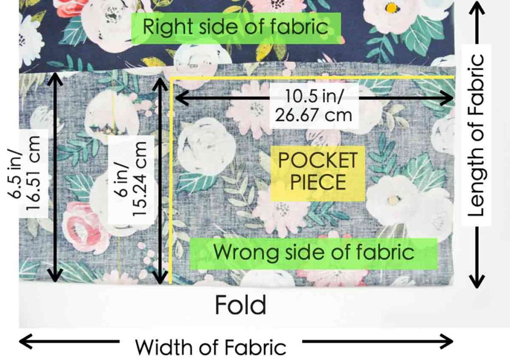 How to Make Reversible Tote Pattern 1