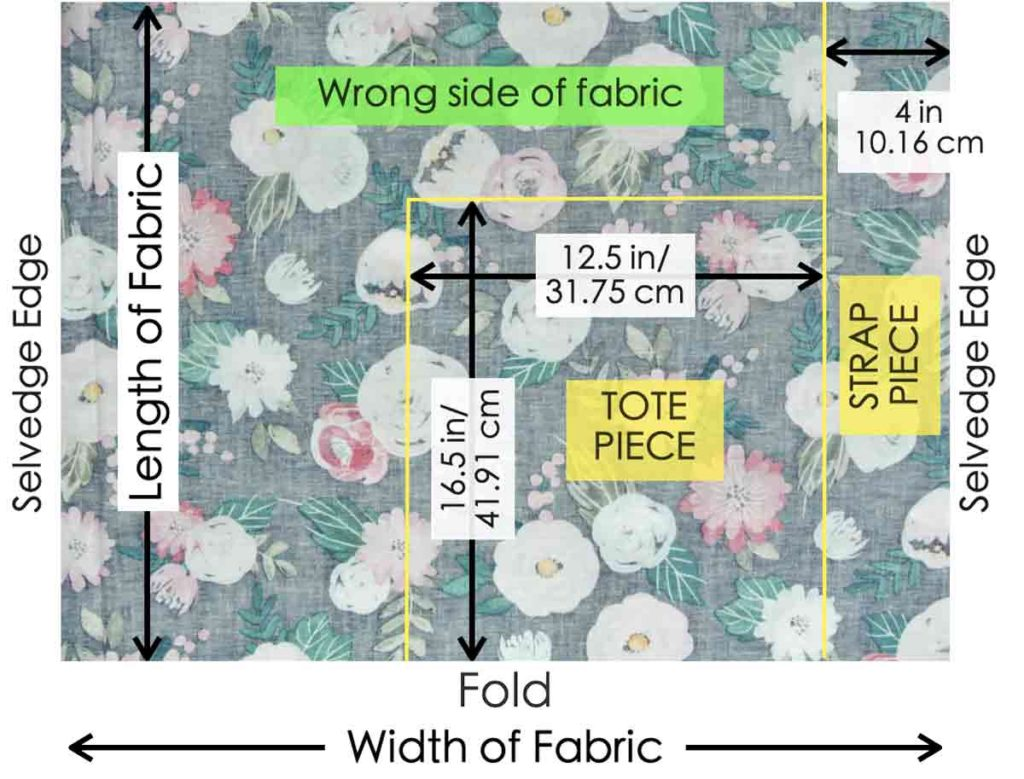 How to Make Reversible Tote Pattern
