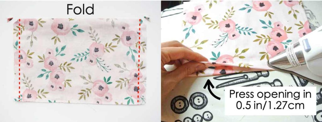 How to make Reversible Tote Sewing Pockets