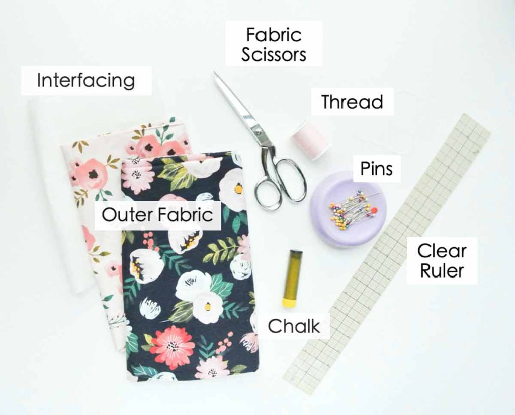 How to Make Reversible Tote Materials