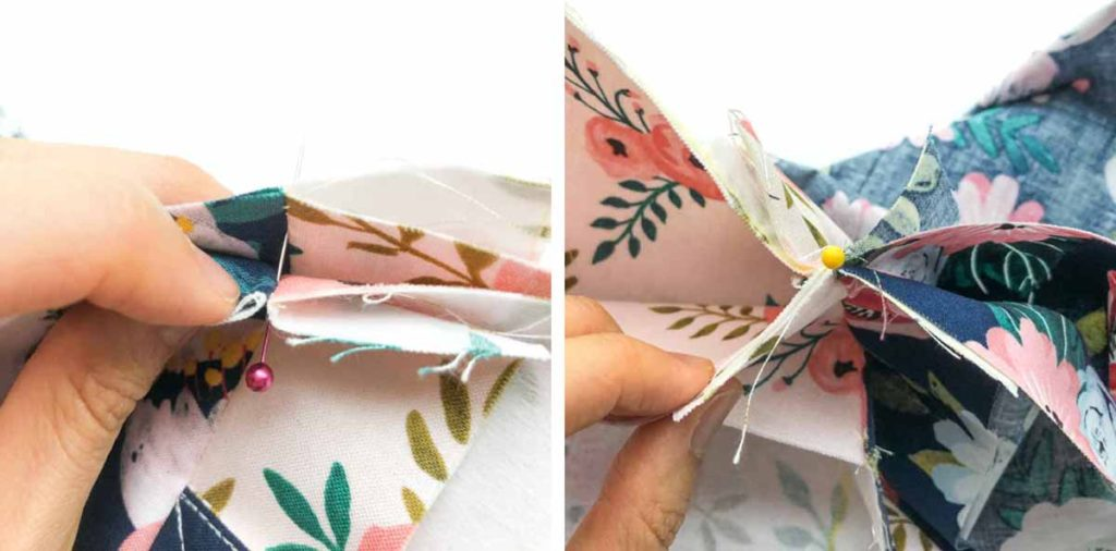 How to Make Reversible Tote Matching seams at top of bag