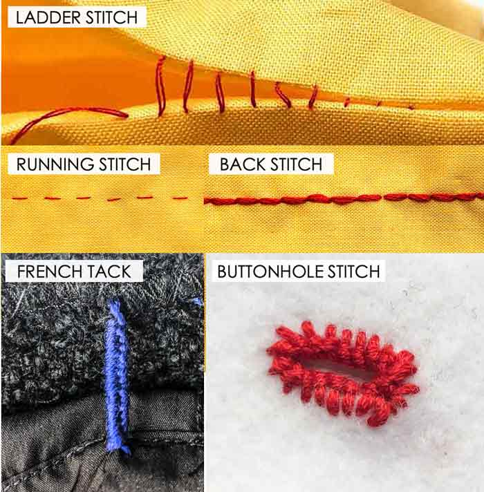 Essential Hand Sewing Stitches for Mending