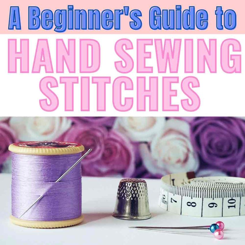 Featured Image for Essential Hand Sewing Stitches Post