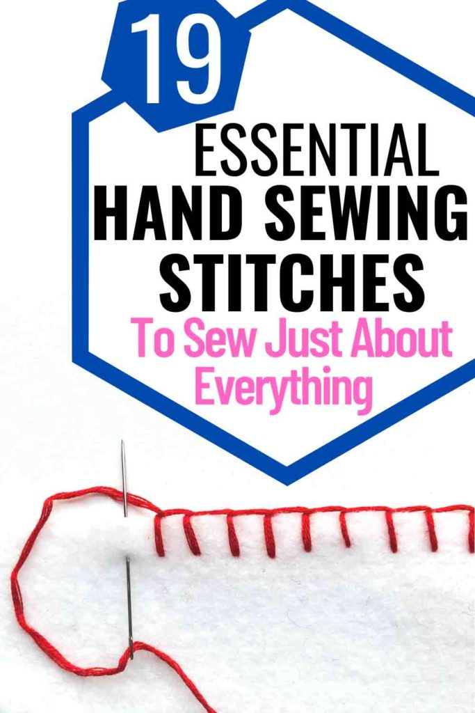 Basic Hand Sewing Stitches Every Beginner Must Know
