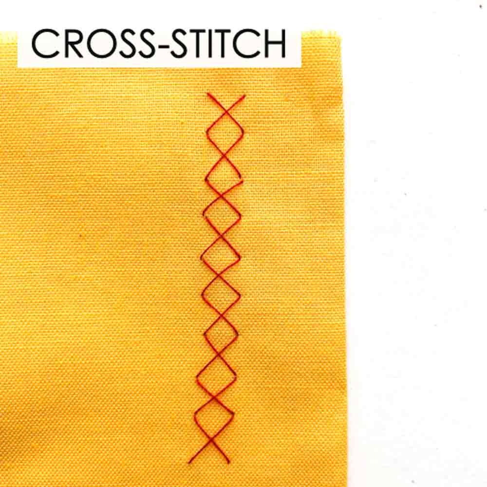 How to Make Cross Stitch. Essential Hand Sewing Stitches