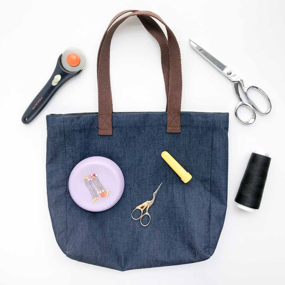 Simple Tote with Lining