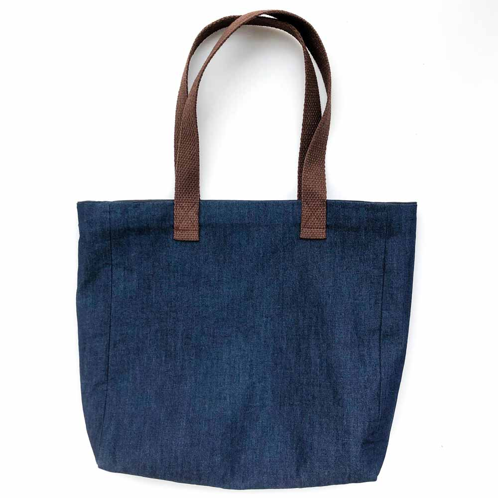 How to Make a Simple Tote Bag with a Lining Finished Image