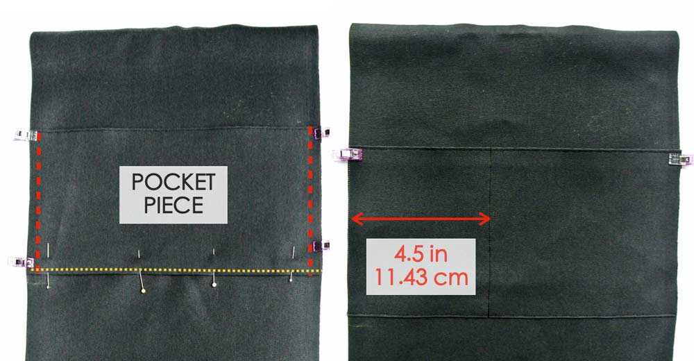How to Make a tote bag with a lining making pockets