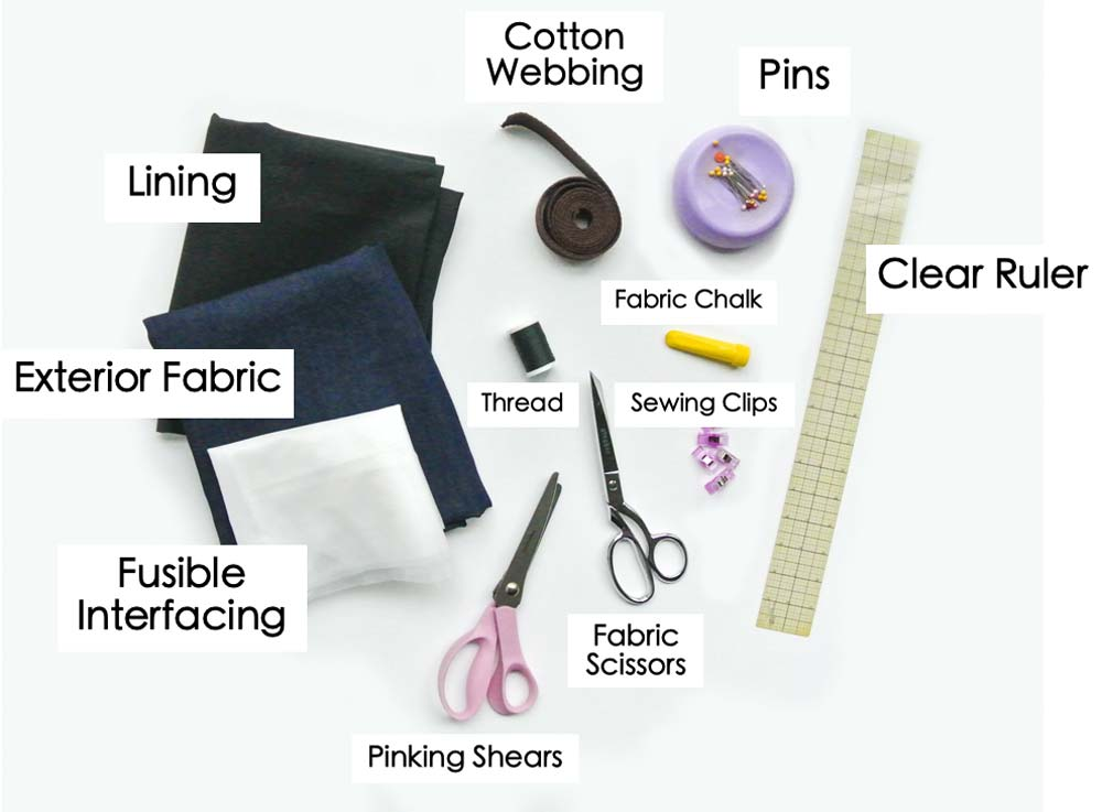 How to Make a tote bag materials