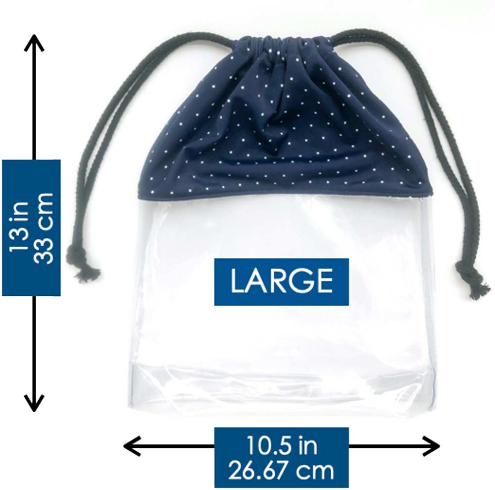 Large Drawstring Shoe Dust Bag Dimensions